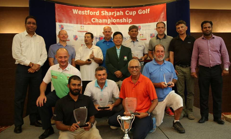Participants of Sharjah Golf Cup