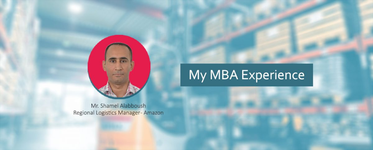 MBA a experience of a Logistics Manager